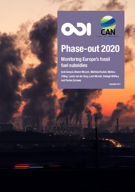 Phase out 2020 monitoring Europes fossil fuel subsidies